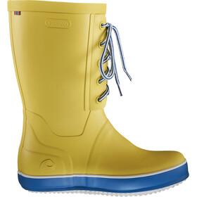 Viking Footwear Retro Logg Kalosze Kobiety, żółty